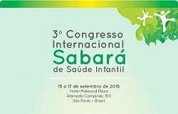 3� Congresso Internacional Sabar� de Sa�de Infantil