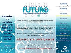 Programa Especialista do Futuro - M�dicos selecionados