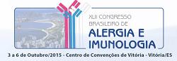 Certificados de participa��o e palestrantes do XLII Congresso Brasileiro de Alergia e Imunologia 2015