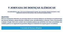 V Jornada de Doen�as Alergicas